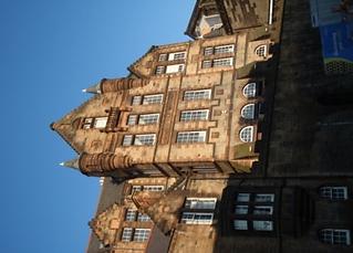 Castlehill old castlehill school Johnston Terrace
