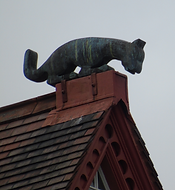 Ramsay Garden Devil on the roof
