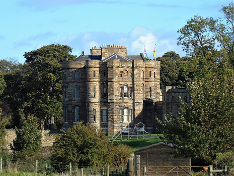 Seton Castle. Port Seton East Lothian