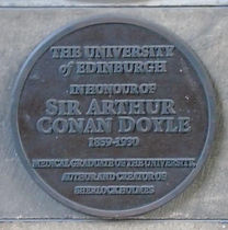 Sir Arthur Conan Doyle University of Edinburgh Medical School