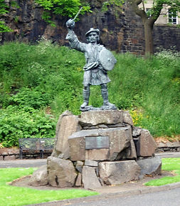Rob Roy McGregor Statue Stirling, Tour S