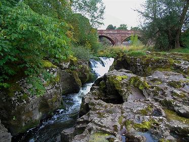 Waterfall East Linton East Lothian