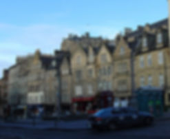 Grassmarket North Edinburgh Castle