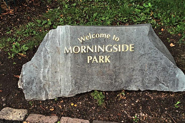 Morningside Park Stone Edinburgh