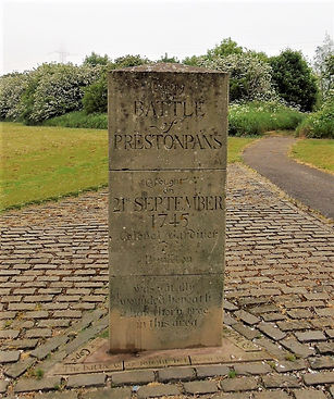 Colonel Gardiner Thorntree Memorial Stone Battle of Prestonpans East Lothian