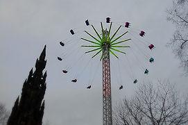 Edinburgh Christmas Festival sky flyer All About Edinburgh