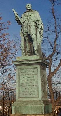 Edinburg Castle Esplanade Frederick Duke of York Memorial Statue