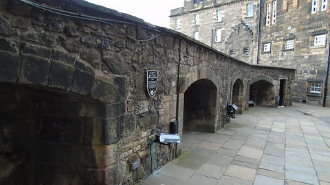 Dury's Battery Edinburgh Castle