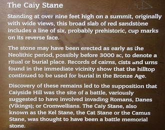The Caiy Stane Story Edinburgh