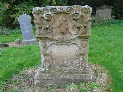 Jacobite Grave Grave Stone Old Tranent P