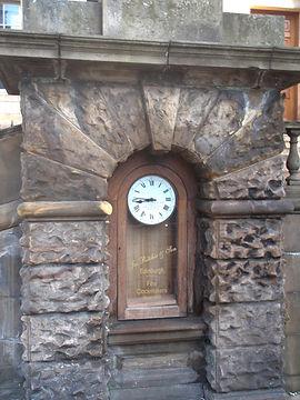 Frederick James Ritchie Clock Princes Street Edinburgh