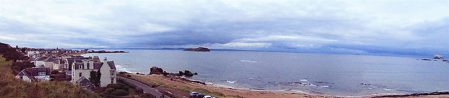 View from Castle Hill  North Berwick Eas