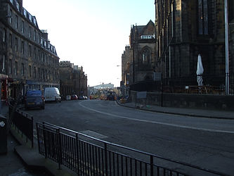 Johnston Terrace.Edinburgh