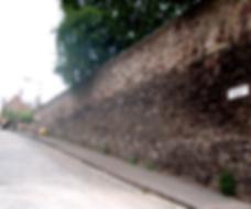 Flodden Wall Drummond Street Edinburgh City Wall.