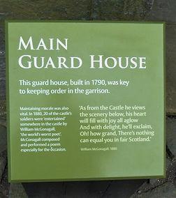 Stirling Castle Main Guard House