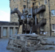 Field Marshal Earl Haig Statue Edinburgh Castle