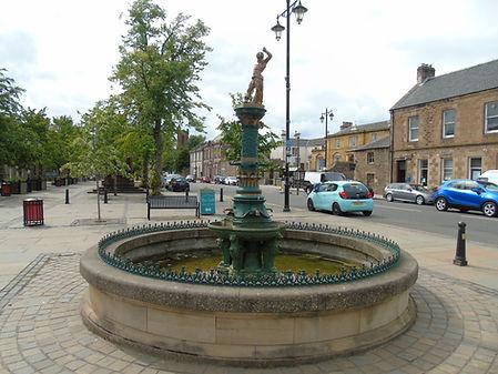 Samson Fountain Haddington East Lothian