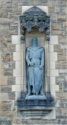 William Wallace Statue Edinburgh Castle Esplanade