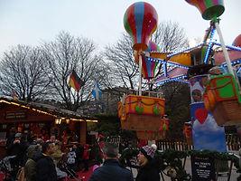 Christmas Fare Round-About Edinburgh