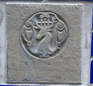 Scottish Poetry Library Plaque.JPG