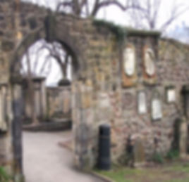 Greyfriar's kirkyard Flodden Wall Edinburgh