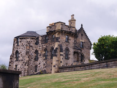 Gothic Tower Calton Hill Edinburgh