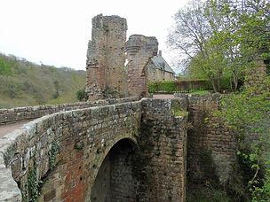 Roslin Castle Ruins Midlothian Scotland