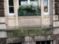 Douglas Haig carved stone birth place charlotte Square Edinburgh