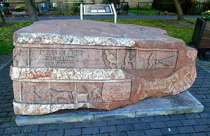 Wallyford Miners Stone. East Lothian