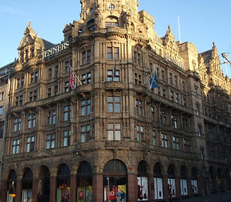Jenners Department Store Princes Street Edinburgh