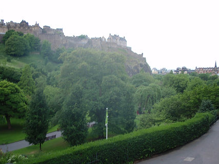 West Princes Street Gardens Edinburgh Old Nor Loch