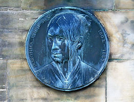 Dorothea Dix Medallion Morningside Edinburgh