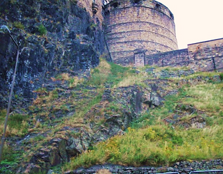 Half-moon Battery Edinburgh Castle Srt o
