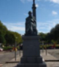 James Clark Maxwell Statue George Street Edinburgh
