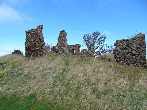Markle Castle Ruins Markle East Lothian