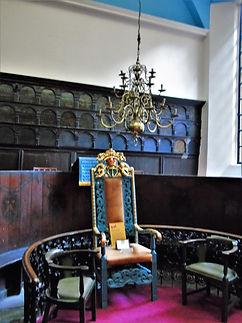 Deacon of Guild's Chair Incorpoation of Hammermen Cowgate Edinburgh