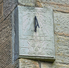 Foulis Sundial Colinton Village Church