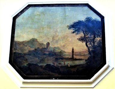 landscape panels by William Delacour, Canongate Edinburgh