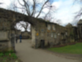 Greyfriars Graveyard Flodden Wall Remains Wall Remain