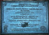 Golf History Tour Open Champions Plaque About East Lothian