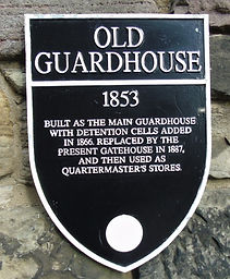 Old Guardhouse Plaque _ Edinburgh Castle