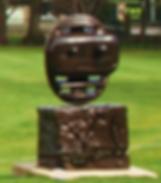 Sculpture in Art Gallery Gardens