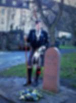 Greyfriars Bobby Grave in Greyfrias Kirk