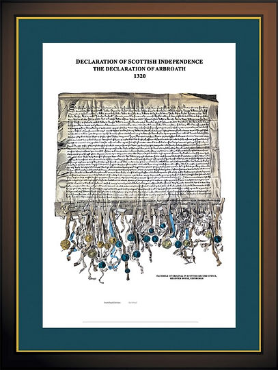 Declaration of Arbroath 2020 700 Years Independent