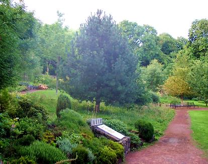 Corstorphine Hill Walled Garden Edinburgh