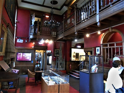 Main Entrance hall Writers' Museum Royal Mile Lawnmarket Edinburgh