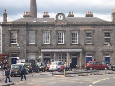 Haymarket Rail Station Edinburgh