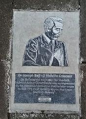 Paving Stone Memorial Melville Crescent