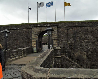 Stirling Castle Drawbridge and Main Entr