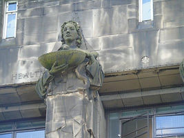 st andrew house Health Statue